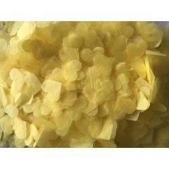 Confetti inimioare galbene hartie pentru party si evenimente, 923592
