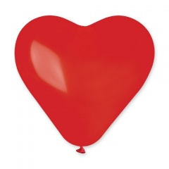 "37"" Latex Red Heart Balloon, CR3.05"