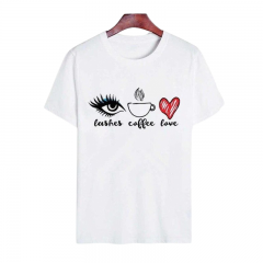 Cotton T-Shirt - Blink Eyes, Radar 021, 1 piece