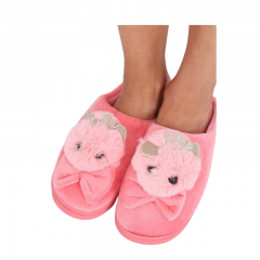 Pink Bunny Slippers, Radar 039, 2 pieces