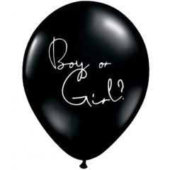 Balon Latex Jumbo 48 cm - Boy or Girl?, Radar, 1 buc