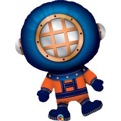 Deep Sea Diver- 95 cm, Qualatex 16426, 1 piece