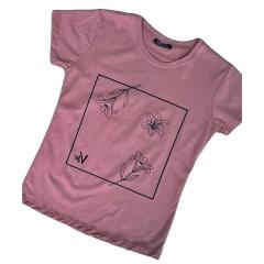 Cotton T-Shirt Flowers, Radar 037