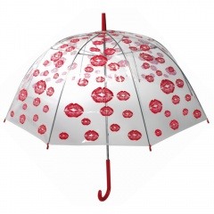 Dome Umbrella with Red Lips - 85cm, OOTB 61/1938