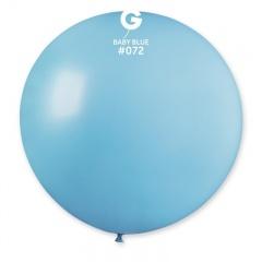 Baloane Latex Jumbo 100 cm, Baby Blue 72, G40.72