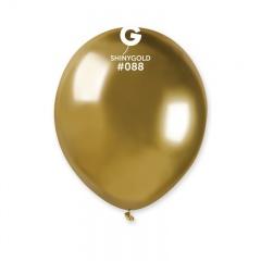 Baloane latex 5''/13 cm Gold - Shiny (Chrome), Radar 50.88
