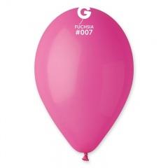 Fuchsia 07 Latex Balloons , 10 inch (26 cm), Gemar G90.07, Pack Of 100 pieces