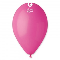 Fuchsia 07 Latex Balloons , 12 inch (30 cm), Gemar G110.07, Pack Of 100 pieces