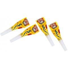 Suflatori pentru petreceri copii - Testoasele Ninja, Amscan RM552473, Set 6 buc