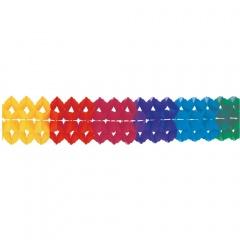 Ghirlanda hartie de agatat Rainbow - 20 x 1000 cm, Radar 2996, 1 buc