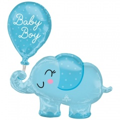 Folie Figurina Elefant Baby Boy- 73 x 78 cm, Radar 4312375
